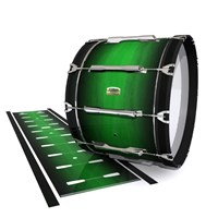 Yamaha 8200 Field Corps Bass Drum Slip - Asparagus Stain Fade (Green)