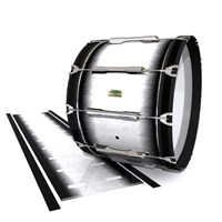 Yamaha 8200 Field Corps Bass Drum Slip - Black Magic Fade (Neutral)