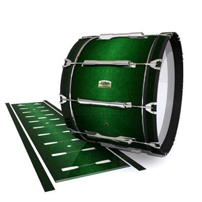 Yamaha 8200 Field Corps Bass Drum Slip - Deep Bamboo (Green)