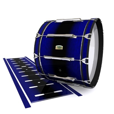 Yamaha 8200 Field Corps Bass Drum Slip - Deep Dark Sea (Blue)