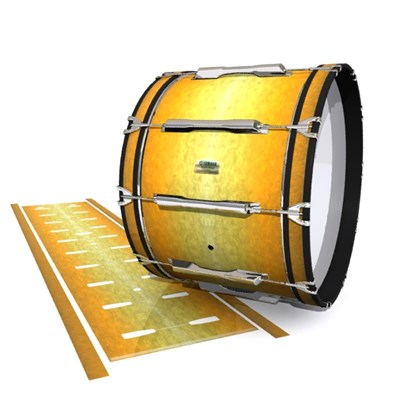 Yamaha 8200 Field Corps Bass Drum Slip - Desert Heat (Yellow)