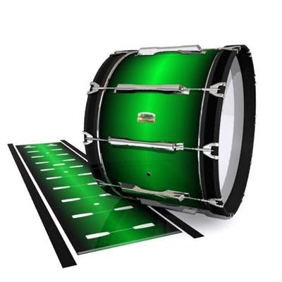 Yamaha 8200 Field Corps Bass Drum Slip - Green Machine (Green)