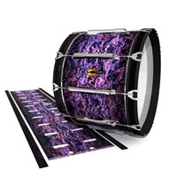 Yamaha 8300 Field Corps Bass Drum Slip - Alien Purple Grain (Purple)