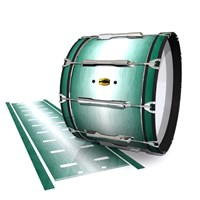 Yamaha 8300 Field Corps Bass Drum Slip - Alpine Fade (Green)