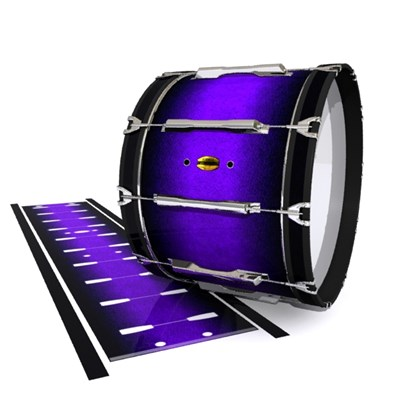 Yamaha 8300 Field Corps Bass Drum Slip - Amethyst Haze (Purple)