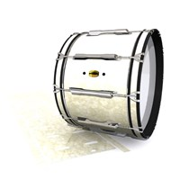 Yamaha 8300 Field Corps Bass Drum Slip - Antique Atlantic Pearl (Neutral)