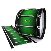 Yamaha 8300 Field Corps Bass Drum Slip - Asparagus Stain Fade (Green)
