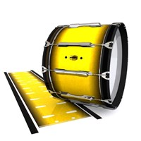 Yamaha 8300 Field Corps Bass Drum Slip - Aureolin Fade (Yellow)