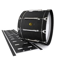 Yamaha 8300 Field Corps Bass Drum Slip - Black Stain (Neutral)
