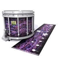 Yamaha 9200 Field Corps Snare Drum Slip - Alien Purple Grain (Purple)
