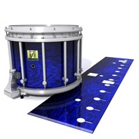 Yamaha 9200 Field Corps Snare Drum Slip - Andromeda Blue Rosewood (Blue)
