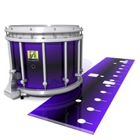 Yamaha 9200 Field Corps Snare Drum Slip - Antimatter (Purple)