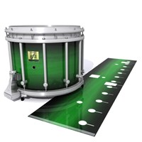 Yamaha 9200 Field Corps Snare Drum Slip - Asparagus Stain Fade (Green)