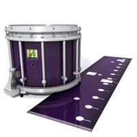 Yamaha 9200 Field Corps Snare Drum Slip - Black Cherry (Purple)