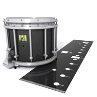 Yamaha 9200 Field Corps Snare Drum Slip - Black Stain (Neutral)