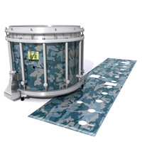 Yamaha 9200 Field Corps Snare Drum Slip - Blue Slate Traditional Camouflage (Blue)