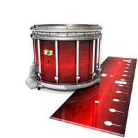 Yamaha 9300 Field Corps Snare Drum Slip - Active Red (Red)