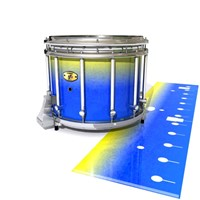 Yamaha 9300 Field Corps Snare Drum Slip - Afternoon Fade (Blue)
