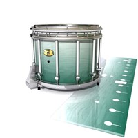 Yamaha 9300 Field Corps Snare Drum Slip - Alpine Fade (Green)