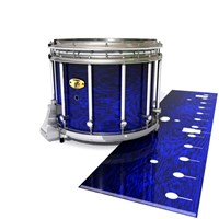 Yamaha 9300 Field Corps Snare Drum Slip - Andromeda Blue Rosewood (Blue)
