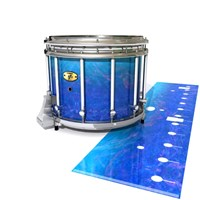 Yamaha 9300 Field Corps Snare Drum Slip - Aquatic Blue Fade (Blue)