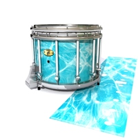 Yamaha 9300 Field Corps Snare Drum Slip - Aquatic Refraction (Themed)