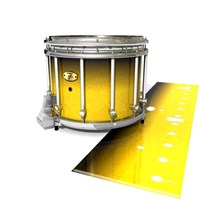 Yamaha 9300 Field Corps Snare Drum Slip - Aureolin Fade (Yellow)