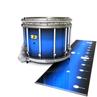 Yamaha 9300 Field Corps Snare Drum Slip - Azure Stain Fade (Blue)