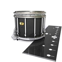 Yamaha 9300 Field Corps Snare Drum Slip - Black Stain (Neutral)
