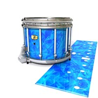 Yamaha 9300 Field Corps Snare Drum Slip - Blue Cosmic Glass (Blue)