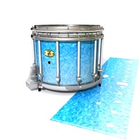 Yamaha 9300 Field Corps Snare Drum Slip - Blue Ice (Blue)