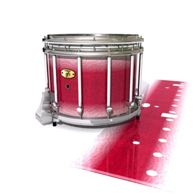 Yamaha 9300 Field Corps Snare Drum Slip - Wicked White Ruby (Red) (Pink)