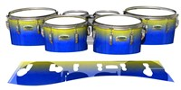 Yamaha 8200 Field Corps Tenor Drum Slips - Afternoon Fade (Blue)