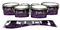 Yamaha 8200 Field Corps Tenor Drum Slips - Alien Purple Grain (Purple)