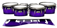 Yamaha 8200 Field Corps Tenor Drum Slips - Amethyst Haze (Purple)
