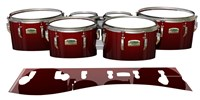 Yamaha 8200 Field Corps Tenor Drum Slips - Apple Maple Fade (Red)