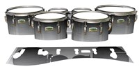 Yamaha 8200 Field Corps Tenor Drum Slips - Arctic Night Fade (Neutral)