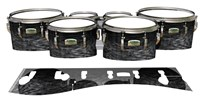 Yamaha 8200 Field Corps Tenor Drum Slips - Ashy Grey Rosewood (Neutral)