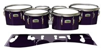 Yamaha 8200 Field Corps Tenor Drum Slips - Black Cherry (Purple)