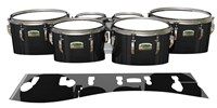 Yamaha 8200 Field Corps Tenor Drum Slips - Black Stain (Neutral)