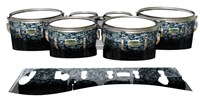 Yamaha 8200 Field Corps Tenor Drum Slips - Blue Ridge Graphite (Neutral)