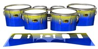 Yamaha 8300 Field Corps Tenor Drum Slips - Afternoon Fade (Blue)