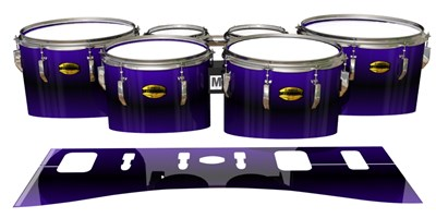 Yamaha 8300 Field Corps Tenor Drum Slips - Antimatter (Purple)