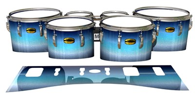 Yamaha 8300 Field Corps Tenor Drum Slips - Dark Nilas (Blue)