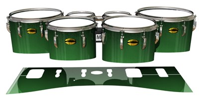 Yamaha 8300 Field Corps Tenor Drum Slips - Forever Everglade (Green)