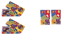 Jelly Belly BeanBoozled 2 Spinners and 2 Refills