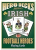 Football Playing Cards For Notre Dame Fighting Irish Fans