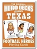 Football Playing Cards For Texas Longhorn Fans