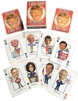 President Donald J Trump Presidential Playing Cards - Revised for 2020 Election