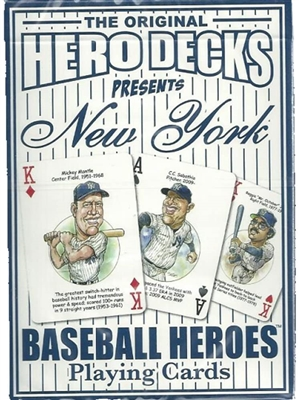 Baseball Playing Cards for New York Yankee Fans
